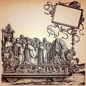 Triumph of Maximilian (woodcut)